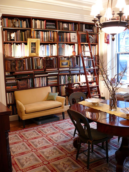 Home Library Room: 25 Beautiful Study Room Ideas