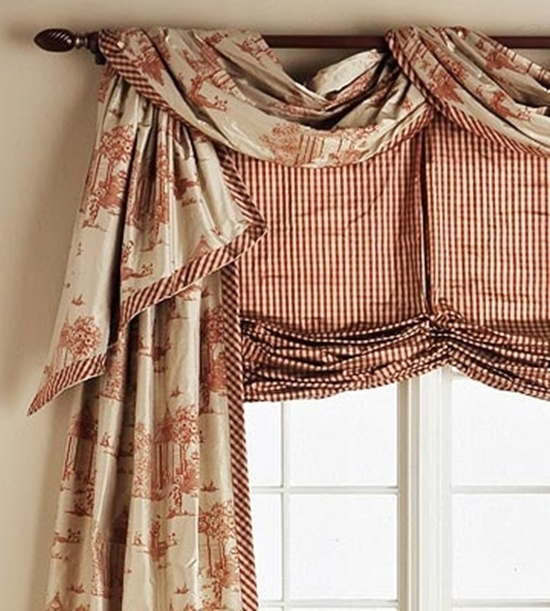 Amazoncom Living Room Valances Curtains