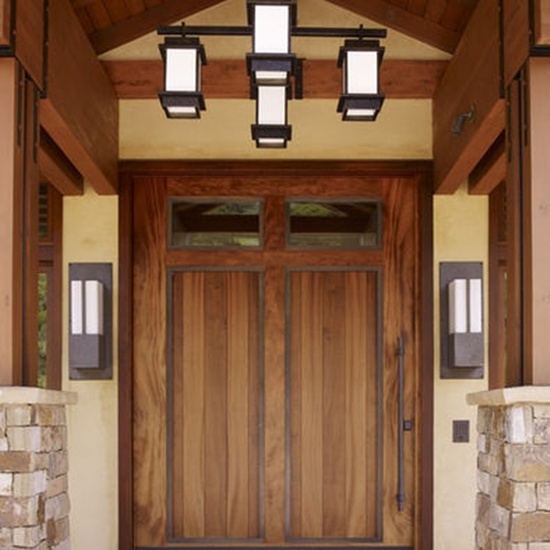 35 front door designs that welcome your guests in grandeur for Simple front door designs