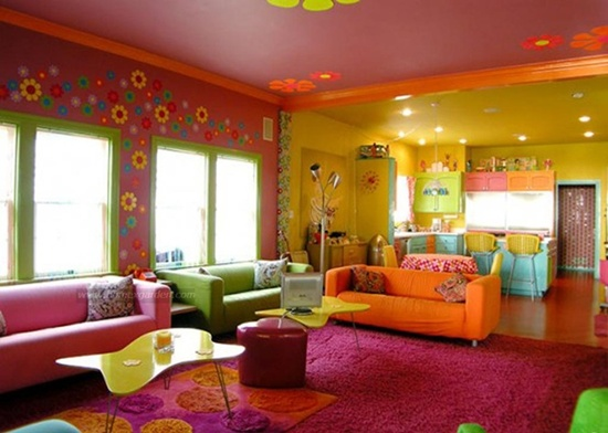 25 Innovative Ways In Which You Can Paint Your Living Room 2017