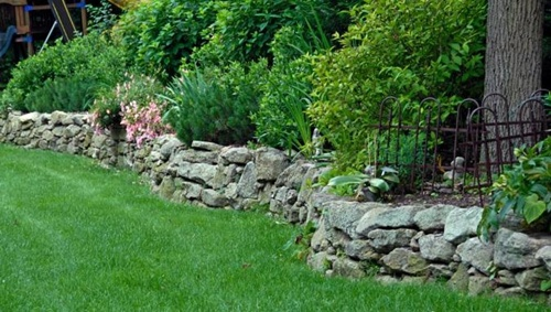 Wonderful Large Stone Retaining Wall