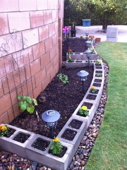 vegetable and flower edging ideas (16)