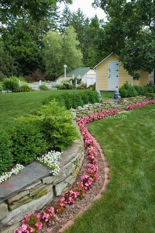 vegetable and flower edging ideas (4)