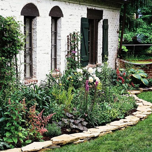 vegetable and flower edging ideas (6)
