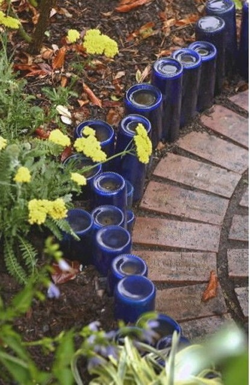 vegetable and flower edging ideas (8)