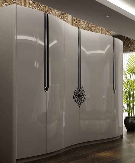 30 modern wall wardrobe almirah designs for Contemporary wardrobe designs india