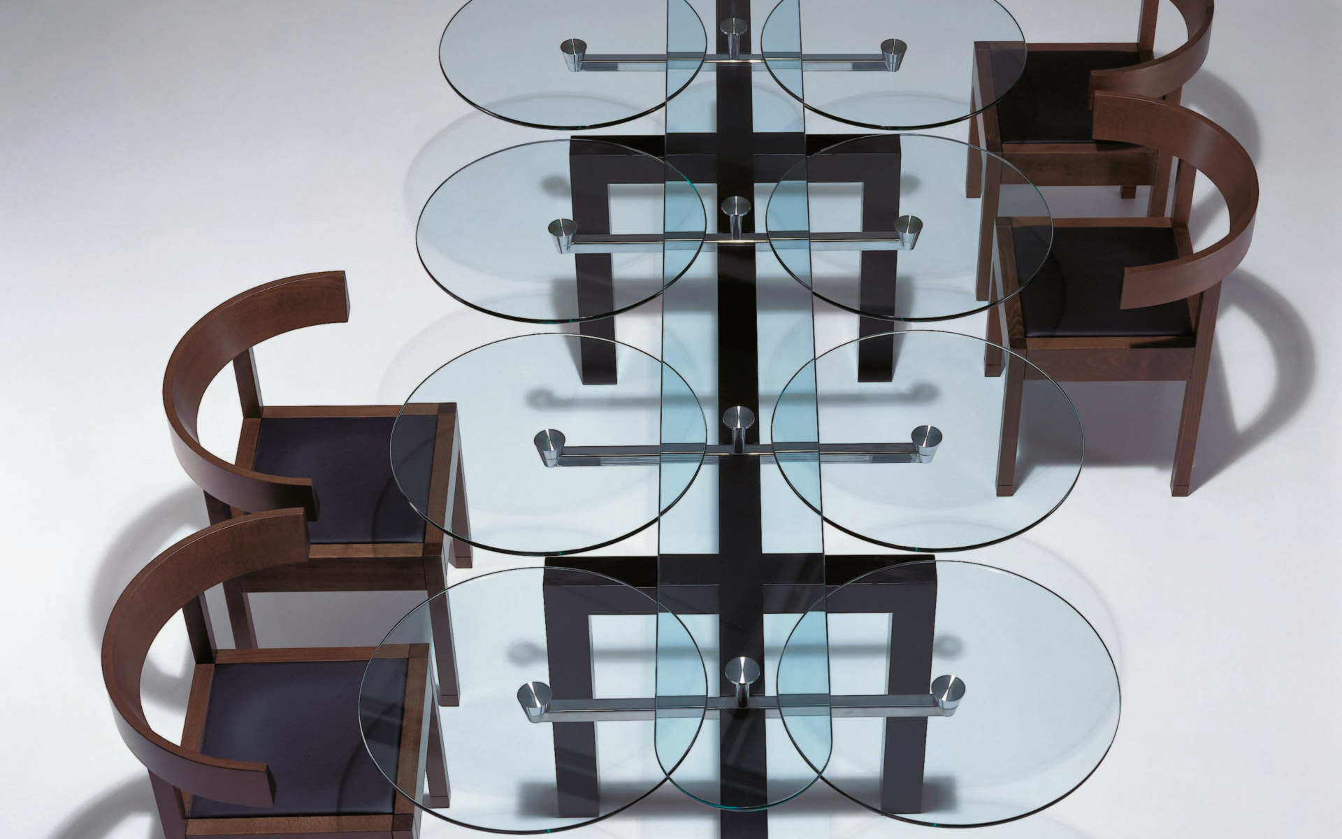 Ultra modern dining room chairs - 1318 02 03