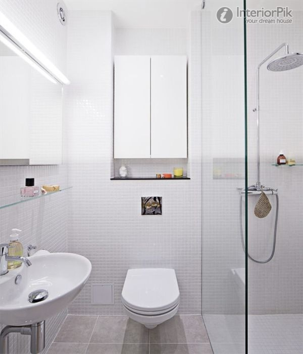 17 delightful small bathroom design ideas for Small bathroom designs 2012
