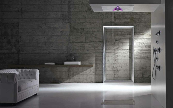 ... Black White Modern Bathroom Design 76 ... Part 69