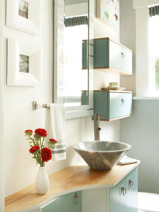 Delightful ... Small Bathroom Storage