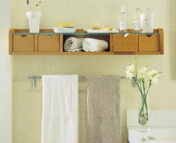 Bathroom Wall Storage Ideas