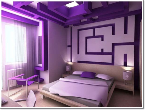 35 inspirational purple bedroom design ideas for Bedroom decoration in bd