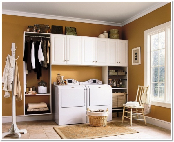 Modern Laundry Room Decorating Ideas