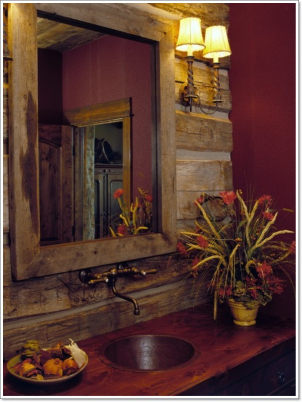 Bathroom Mirror Rustic 42 ideas for the perfect rustic bathroom design