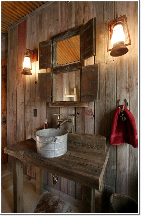 42 ideas for the perfect rustic bathroom design - Rustic Design Ideas