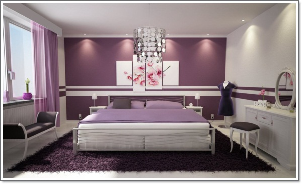 classic-remarkable-purple-bedroom-with-neutral