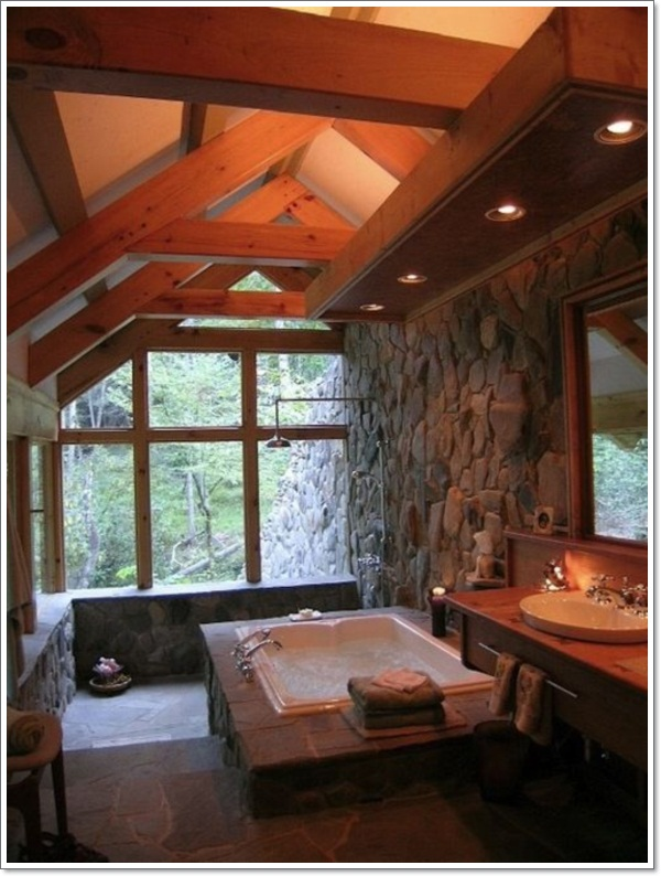... Cool Rustic Bathroom Designs 9 ...