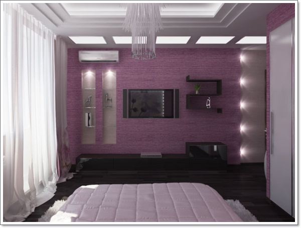 Purple Bedroom Design Ideas 60910