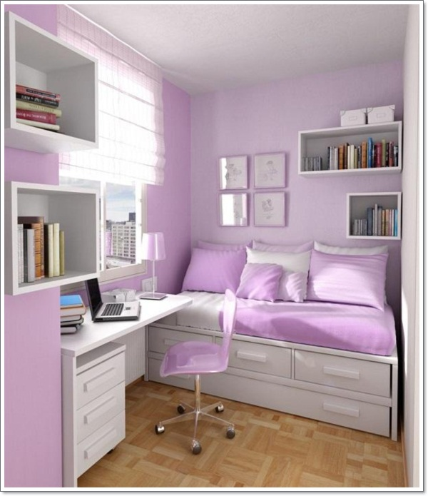 30 interior decorating tricks for small bedroom dcor. beautiful ideas. Home Design Ideas
