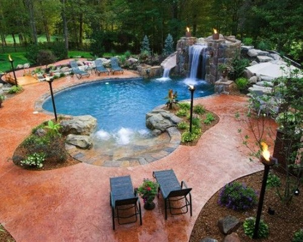 how to add granular chlorine to swimming pools