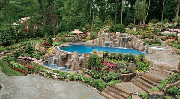 Rock Garden Is An Additional Interesting Option To Design Your Backyard.  You Should Use Nice, Colourful Stones And Pebbles To Construct Walkways In  Your ...