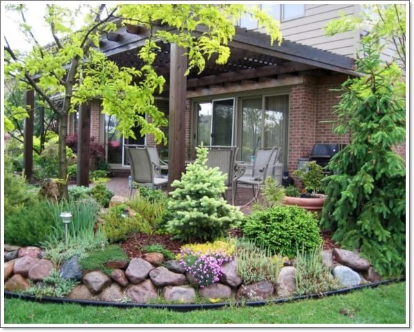 30 beautiful rock garden design ideas for Beautiful small garden designs