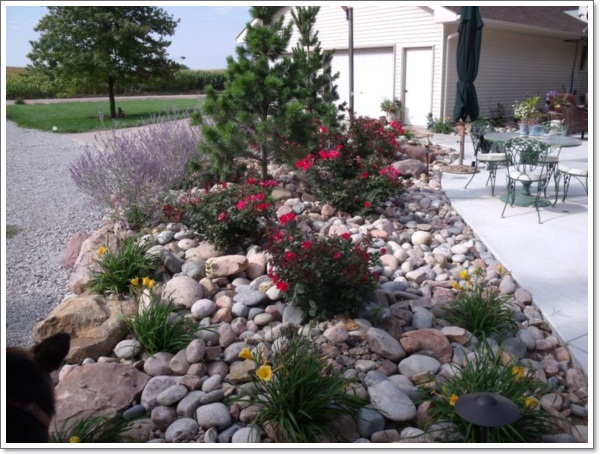 30 beautiful rock garden design ideas for How to landscape a garden