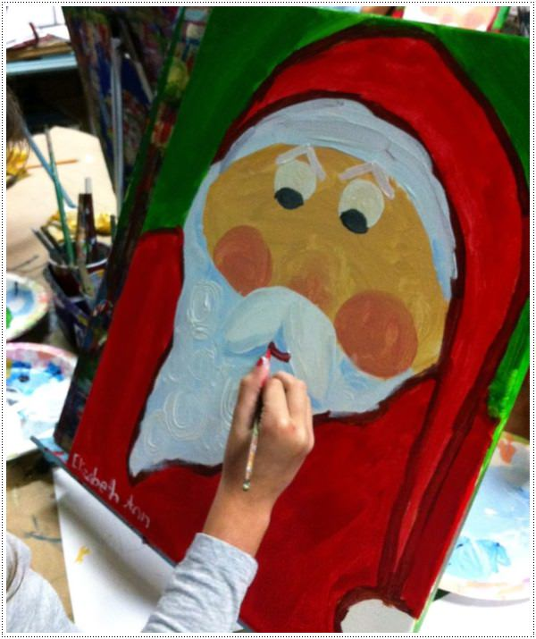 canvas painting ideas kids 1