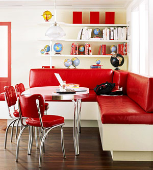 Banquette via better homes