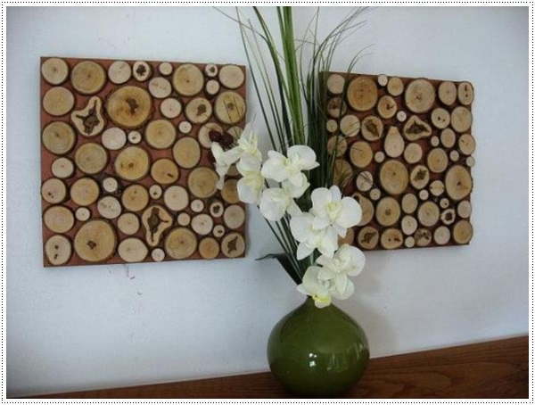 Rustic-wood-slice-wall-art