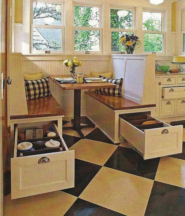 breakfast nook designs