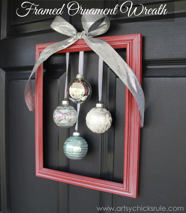Easy-DIY-Framed-Ornament-Wreath-tutorial-Welcome-Home-Tour-wreath-diy