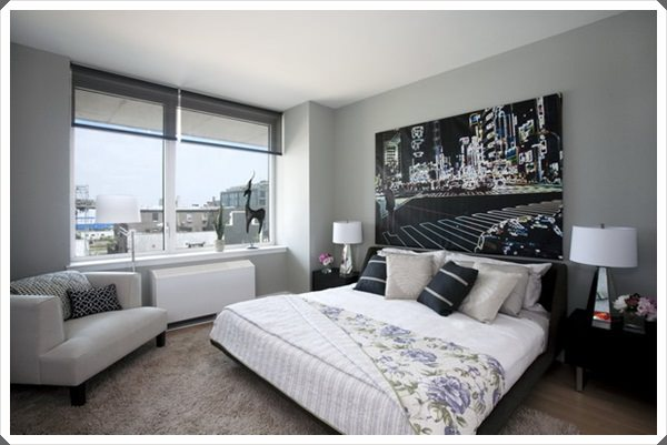 grey bedroom ideas 7 - Grey Bedroom Designs