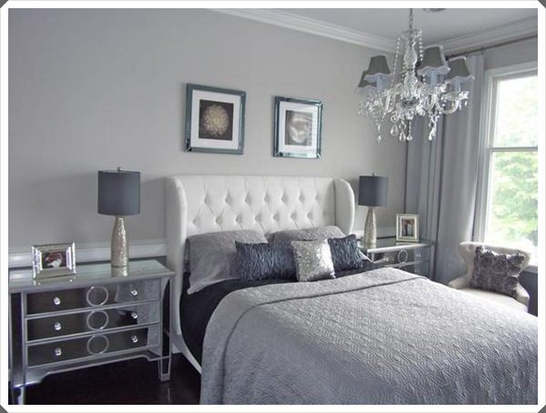 40 grey bedroom ideas basic not boring for Bedroom ideas grey walls