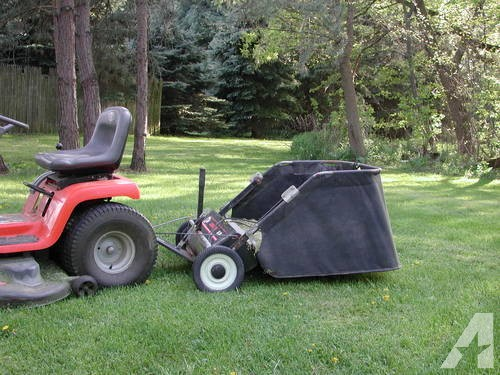 "Agri-Fab (38"") 11 Cubic Foot Tow behind Lawn Sweeper"